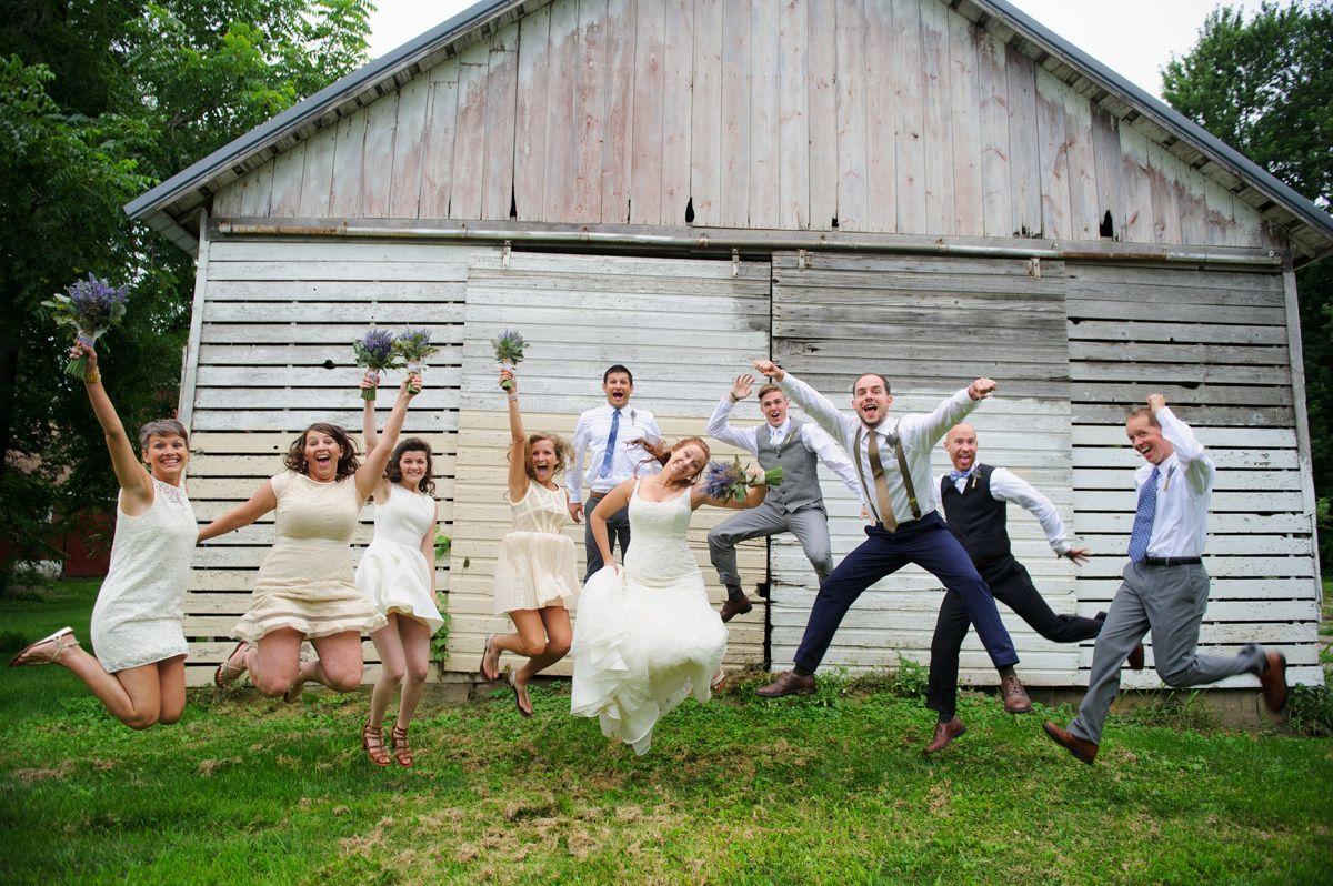 Secrest octagonal barn wedding jennifer hunter cedar for Wedding dresses iowa city